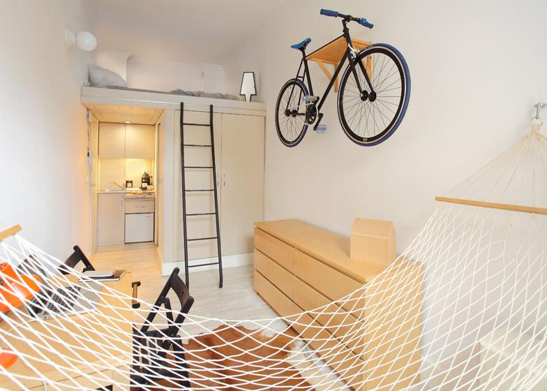 10 แบบแปลนบ้านขนาดเล็ก - Micro Apartment - ห้องจริง