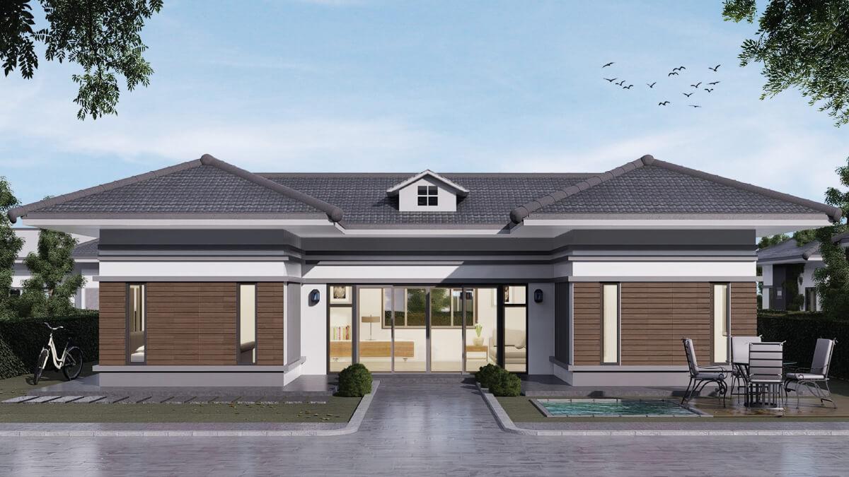 เลือกสร้างบ้านชั้นเดียว1